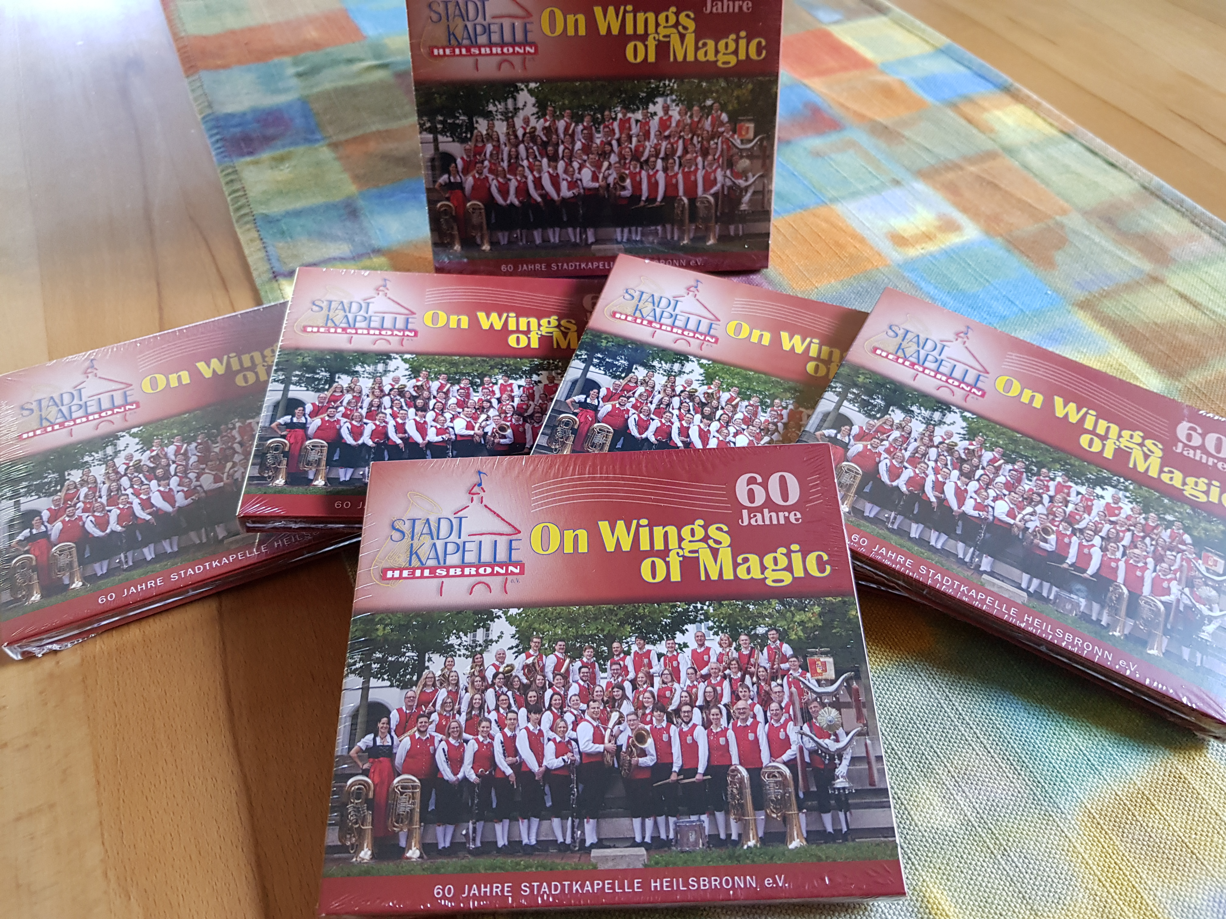 Unsere CD ist da!